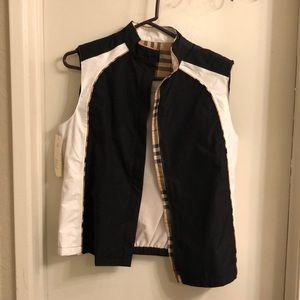 Never worn Burberry Golf Sports vest